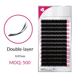 Double-layer Volume Lash Extensions - Xizi Lashes Wholesale Eyelash Extensions Vendor & Manufacturer